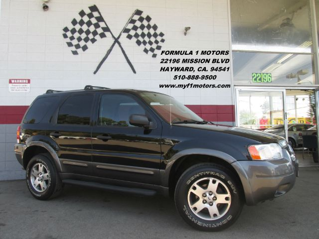 2004 FORD ESCAPE XLT 4DR SUV black abs - 4-wheel anti-theft system - alarm axle ratio - 293 cd
