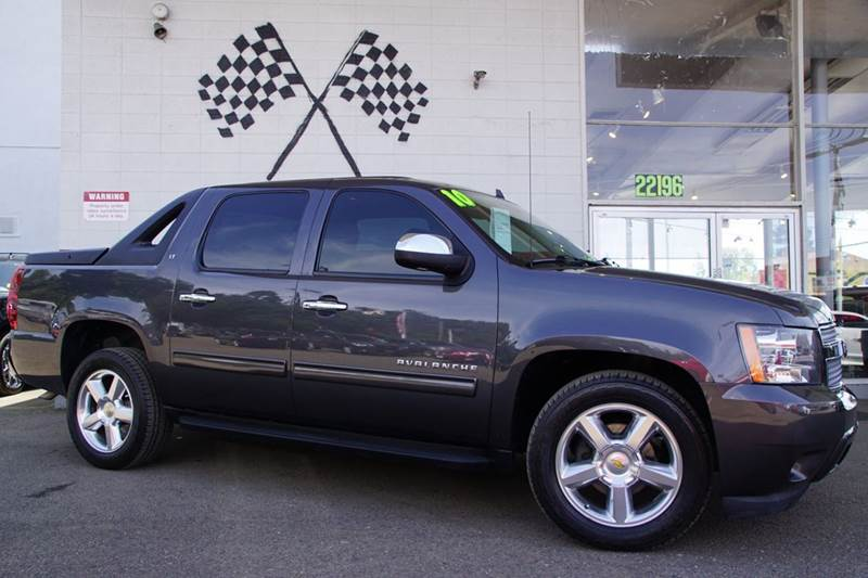 2010 CHEVROLET AVALANCHE LT 4X2 4DR PICKUP taupe gray metallic 2-stage unlocking doors abs - 4-w