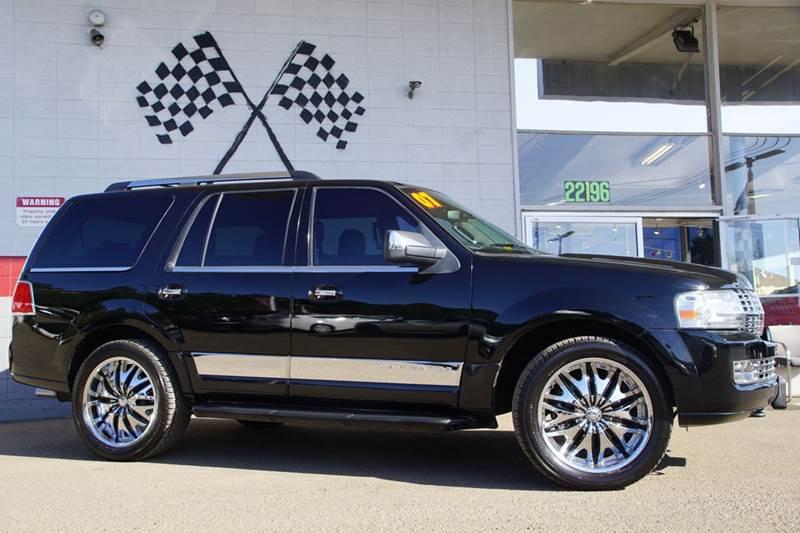 2007 LINCOLN NAVIGATOR LUXURY 4DR SUV black clearcoat 2-stage unlocking doors abs - 4-wheel adj