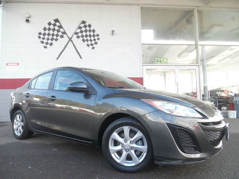 2010 MAZDA MAZDA3 I TOURING 4DR SEDAN 5A gray vin jm1bl1sgxa1294163 this vehicle is great for fa