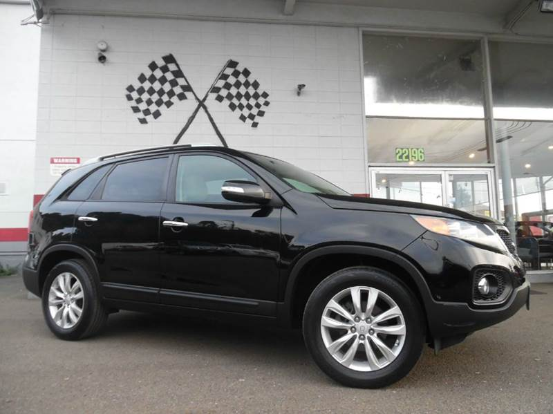 2011 KIA SORENTO EX 4DR SUV black vin 5xyku3a19bg001215 great family vehicle with tons of space