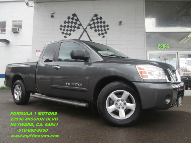 2007 NISSAN TITAN SE KING CAB 2WD gray abs brakesair conditioningalloy wheelsamfm radioanti-b
