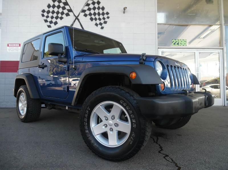 2009 JEEP WRANGLER X 4X4 2DR SUV blue great looking jeep wrangler super clean both inside and ou