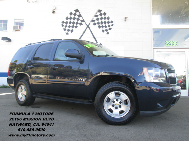 2007 CHEVROLET TAHOE LT1 4WD blue 4wdawdabs brakesair conditioningalloy wheelsamfm radioant