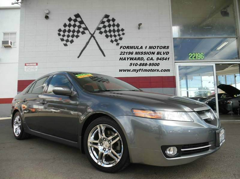 2008 ACURA TL WNAVI 4DR SEDAN WNAVIGATION grey super clean acura tl in excellent condition gor