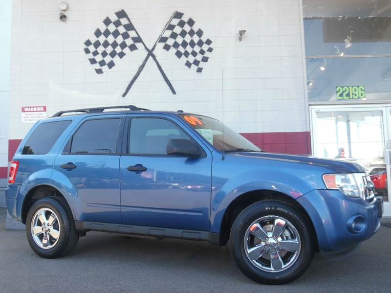 2009 FORD ESCAPE XLT 4DR SUV V6 sport blue clearcoat metallic 2-stage unlocking doors abs - 4-wh