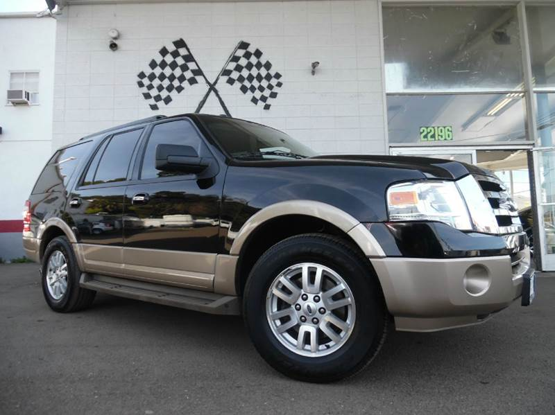 2011 FORD EXPEDITION XLT 4X2 4DR SUV black super clean ford expedition loaded with leather dvd