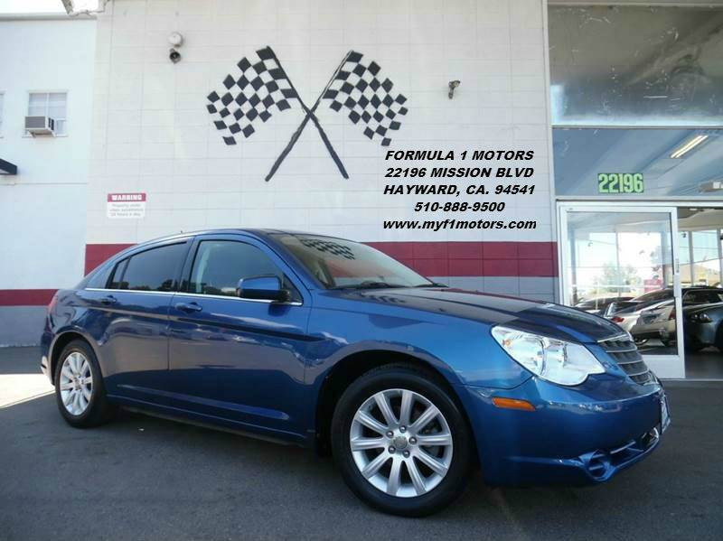 2010 CHRYSLER SEBRING LIMITED 4DR SEDAN blue this is a very nice chrysler sebring dependable veh