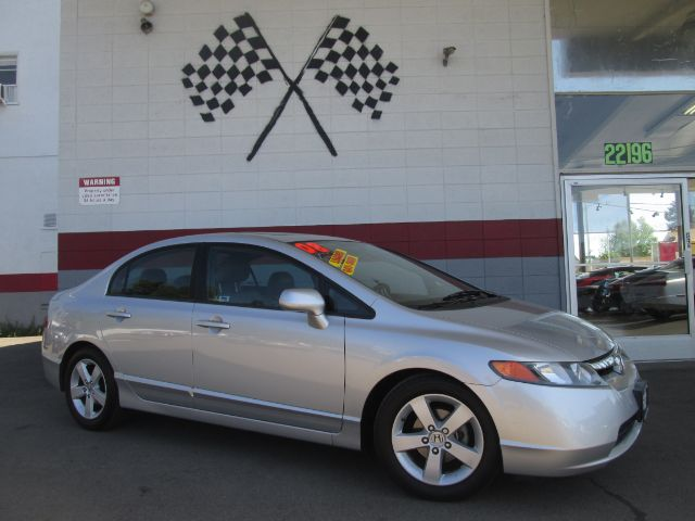 2008 HONDA CIVIC EX-L WNAVI SEDAN silver nice honda civic fully loaded leathermoon roof navi