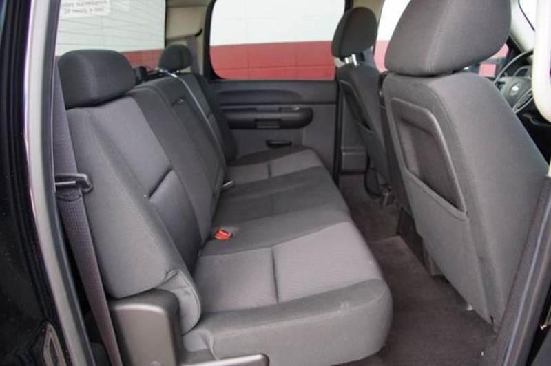 2013 CHEVROLET SILVERADO 2500HD LT 4X4 4DR CREW CAB SB black 4wd selector - electronic hi-lo 4wd