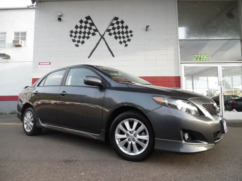 2010 TOYOTA COROLLA S 4DR SEDAN 4A grey vin 1nxbu4ee9az231428 this car is in great condition