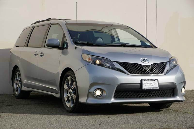 2012 TOYOTA SIENNA SE 8 PASSENGER 4DR MINI VAN south pacific pearl 2-stage unlocking doors abs -