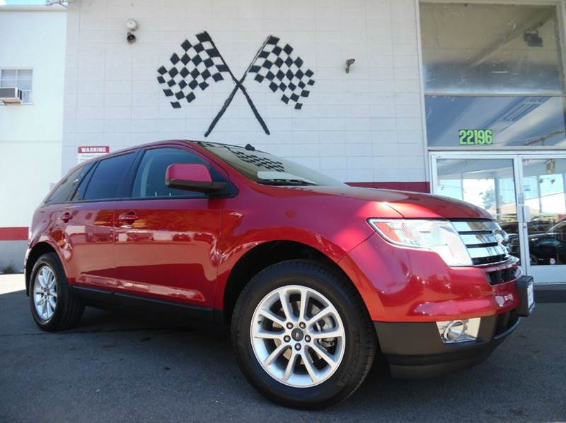 2009 FORD EDGE SEL 4DR SUV red vin2fmdk38c09ba88356 this is a very nice smaller size suv gorgeo