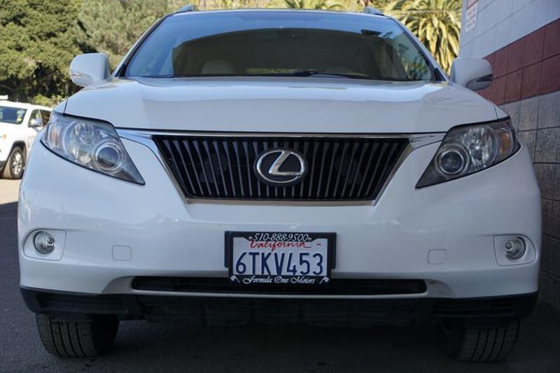 2012 LEXUS RX 350 BASE 4DR SUV starfire pearl bumper detail - rear protectorrear spoiler - roofl