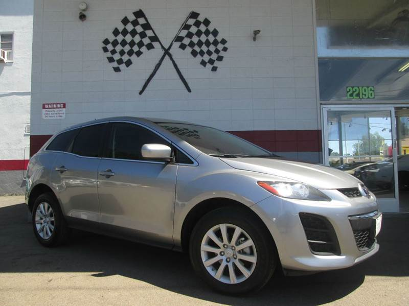 2011 MAZDA CX-7 I SPORT 4DR SUV silver this mazda cx-7 is super clean inside and out very depend