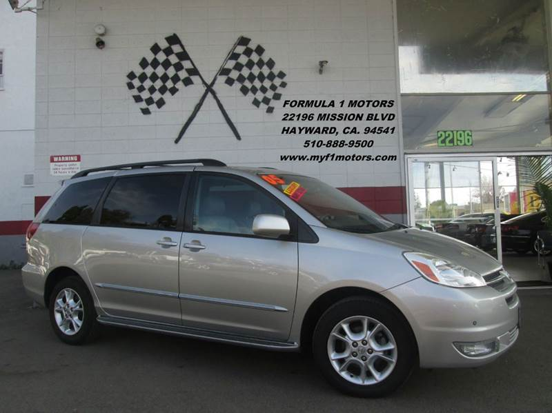 2005 TOYOTA SIENNA XLE LIMITED 7 PASSENGER AWD 4DR silver abs - 4-wheel anti-theft system - alar