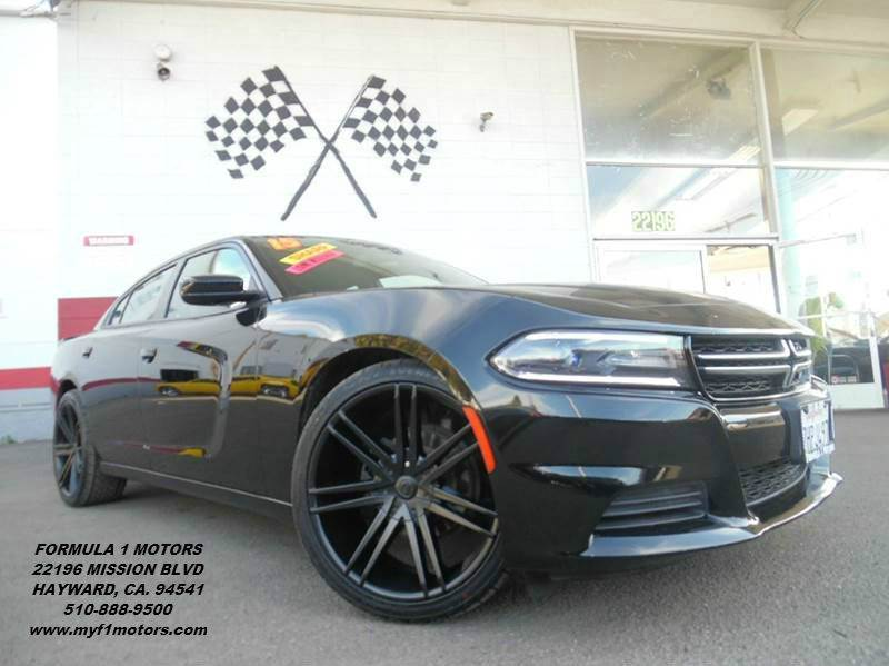 2015 DODGE CHARGER SE 4DR SEDAN black this is a gorgeous dodge charger black premium wheels look