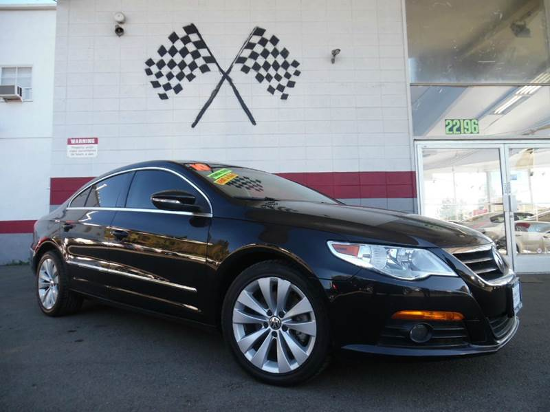 2010 VOLKSWAGEN CC SPORT 4DR SEDAN 6A ENDS 1009 black gorgeous volkswagon cc black on black