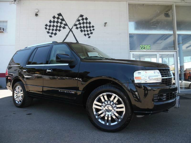 2008 LINCOLN NAVIGATOR 4DR SUV black super clean lincoln navigator fully loaded leather moon ro
