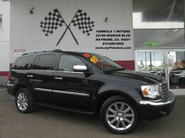 2007 CHRYSLER ASPEN LIMITED 4X4 4DR SUV black loaded - leather - navigation - moon roof - 7 seate