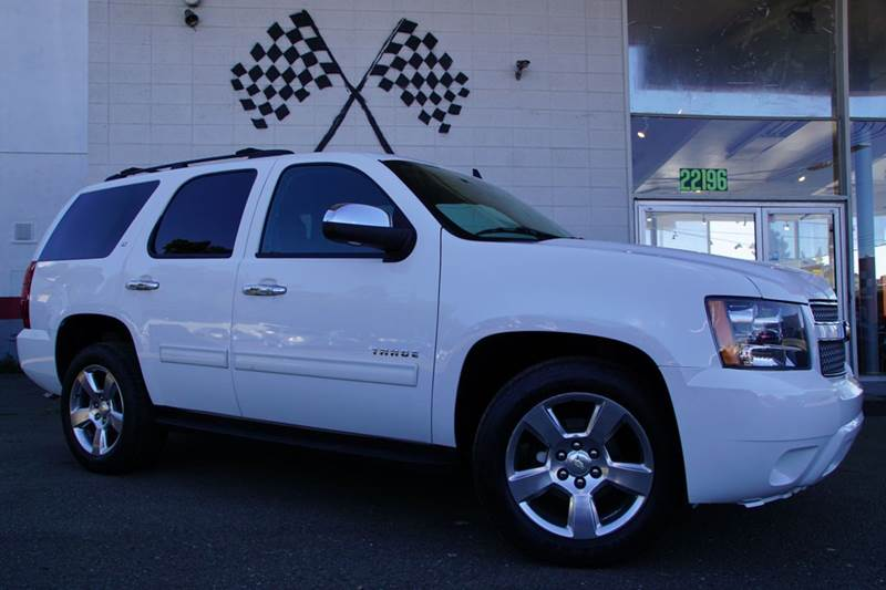 2012 CHEVROLET TAHOE LT 4X2 4DR SUV summit white 2-stage unlocking doors abs - 4-wheel adjustab