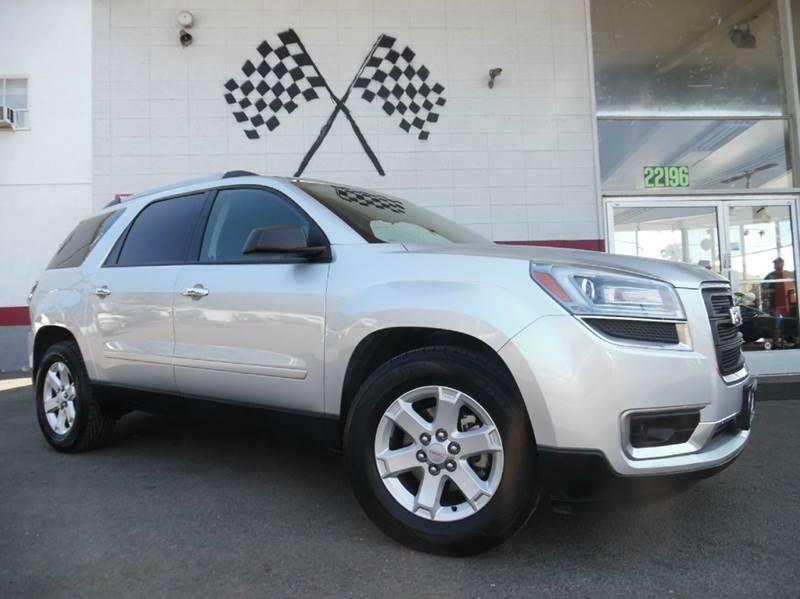 2013 GMC ACADIA SLE-1 4DR SUV silver vin 1gkkrned9dj148868 this gmc acadia has backup camera and