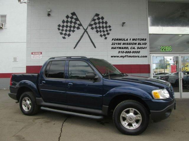 2004 FORD EXPLORER SPORT TRAC XLT RWD 4DR CREW CAB blue this is a very nice ford explorer sport t