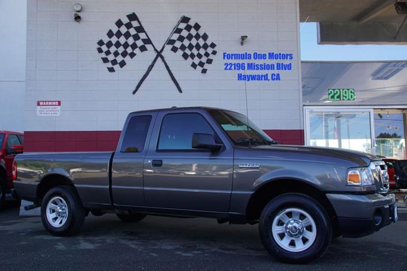 2011 FORD RANGER XLT 4X2 4DR SUPERCAB dark shadow gray metallic capable and fun to drive our 201