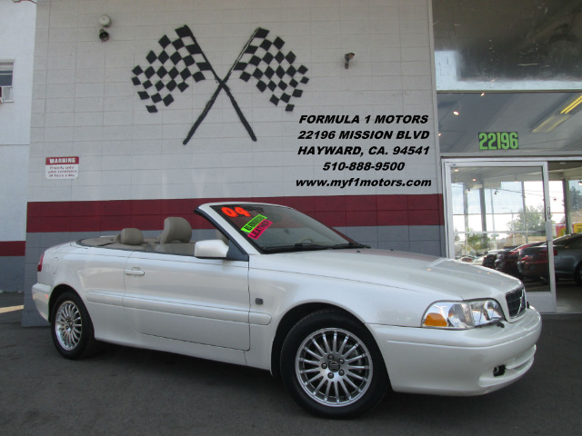 2004 VOLVO C70 HPT 2DR CONVERTIBLE white abs - 4-wheel anti-theft system - alarm cd changer cen