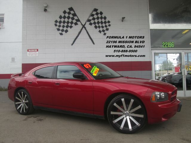 2007 DODGE CHARGER 4DR SEDAN red super clean dodge charger brand new 22 wheels and tires