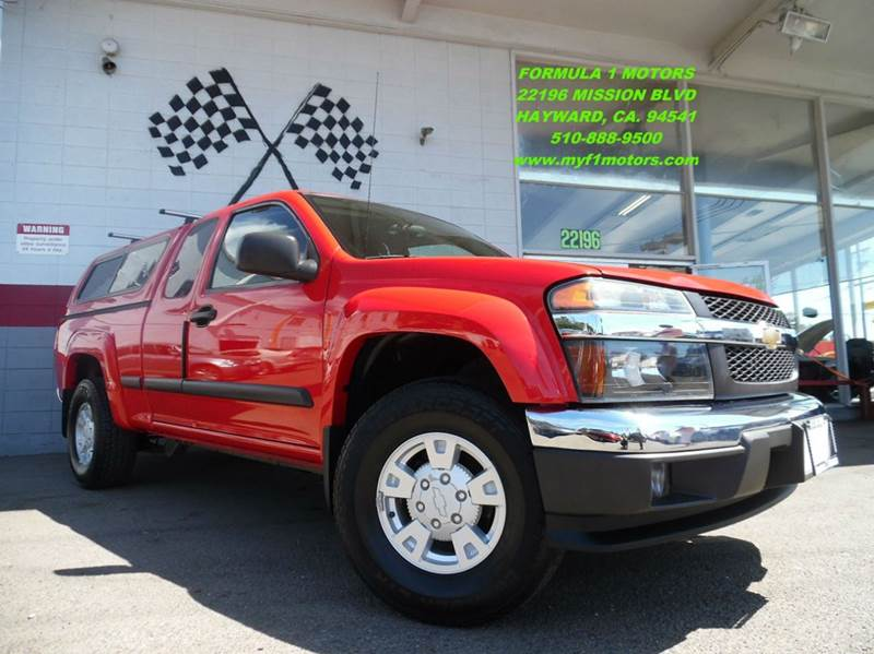 2004 CHEVROLET COLORADO Z71 LS 4DR EXTENDED CAB 4WD SB red abs - 4-wheel axle ratio - 410 bump