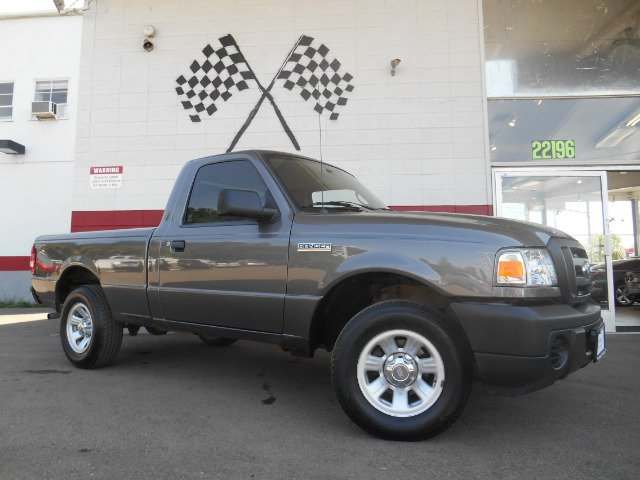 2011 FORD RANGER XL  2WD gray abs brakesair conditioningamfm radioanti-brake system 4-wheel a