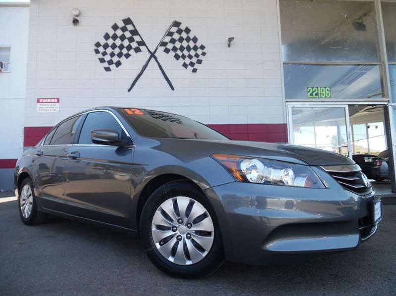2012 HONDA ACCORD LX 4DR SEDAN 5A grey this honda accord is in great shape very dependable good