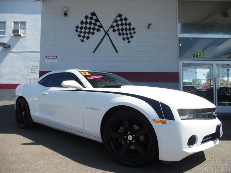 2012 CHEVROLET CAMARO LS 2DR COUPE W2LS white super clean chevy camaro sporty fun to drive gr