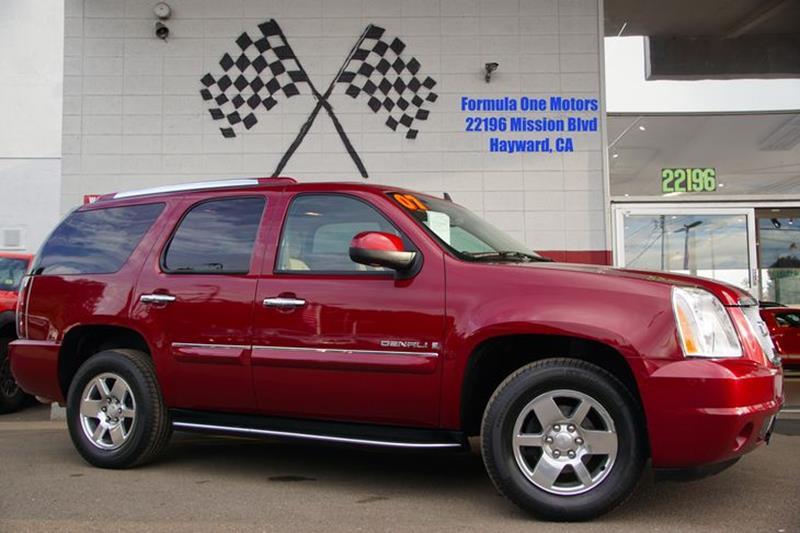 2007 GMC YUKON DENALI AWD 4DR SUV sport red metallic check out our 2007 gmc yukon denali awd in r