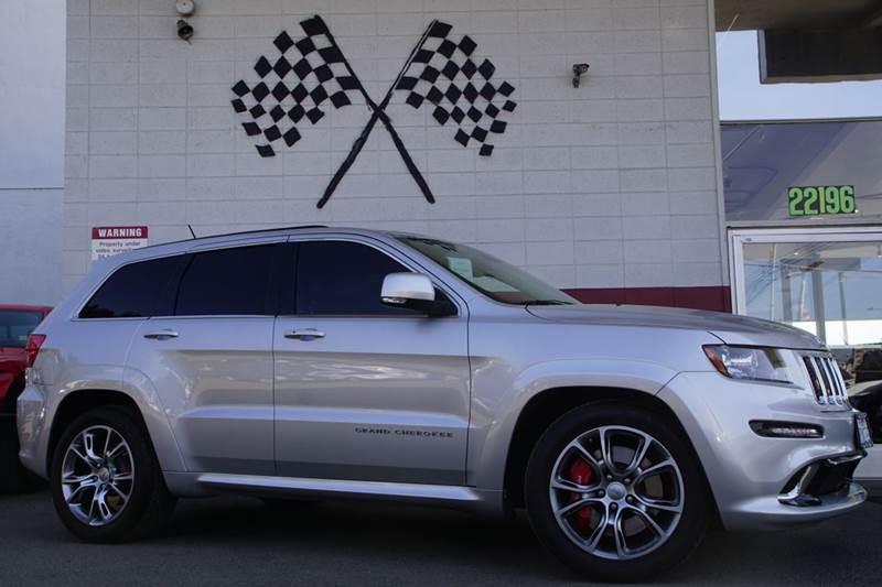 2012 JEEP GRAND CHEROKEE SRT8 4X4 4DR SUV 2-stage unlocking doors 4wd selector - manual hi-lo 4wd