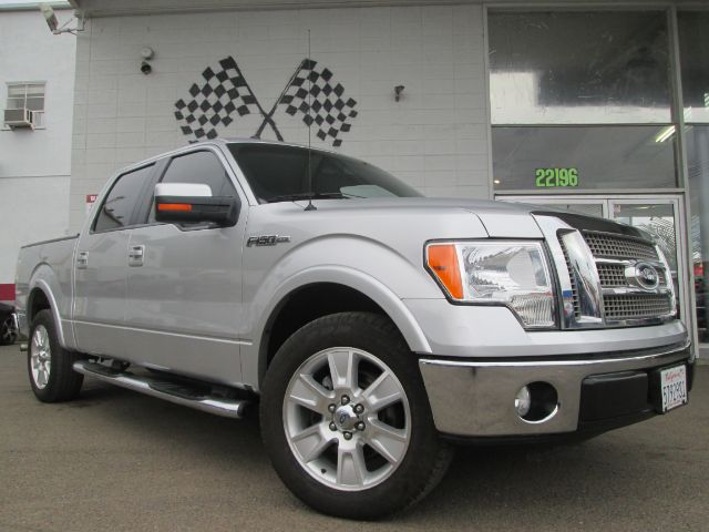 2010 FORD F-150 LARIAT 4X2 4DR SUPERCREW STYLESI silver 2-stage unlocking - remote abs - 4-wheel