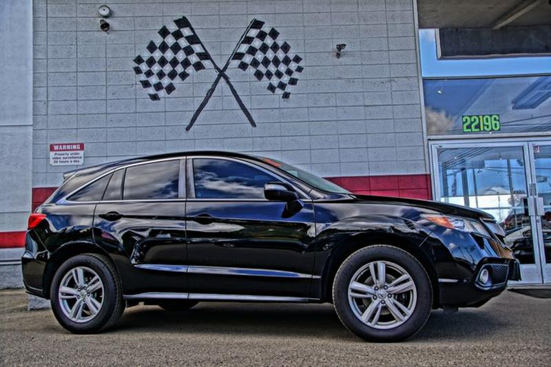 2015 ACURA RDX WTECH 4DR SUV WTECHNOLOGY PACK crystal black pearl as one of the most stylish an