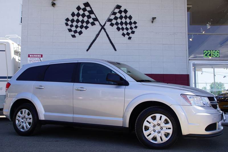 2014 DODGE JOURNEY SE 4DR SUV bright silver metallic clearco 2-stage unlocking doors abs - 4-whe