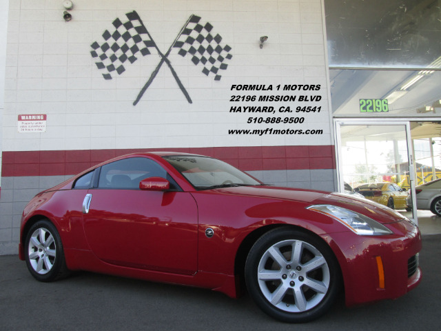 2005 NISSAN 350Z TOURING 2DR HATCHBACK red abs - 4-wheel anti-theft system - alarm cassette cd