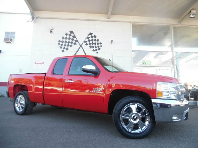 2012 CHEVROLET SILVERADO 1500 LT 4X2 4DR EXTENDED CAB 65 FT red vin 1gcrcse00cz110596 this veh