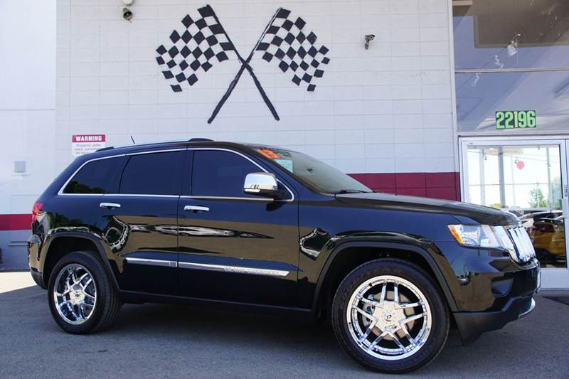 2013 JEEP GRAND CHEROKEE LIMITED 4X4 4DR SUV green 2-stage unlocking doors 4wd selector - manual
