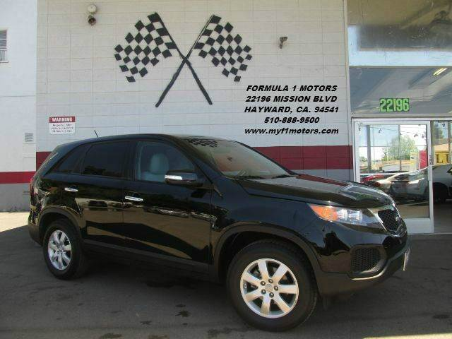 2012 KIA SORENTO 4DR SUV black very nice smaller size suv plenty of space runs great awesome d