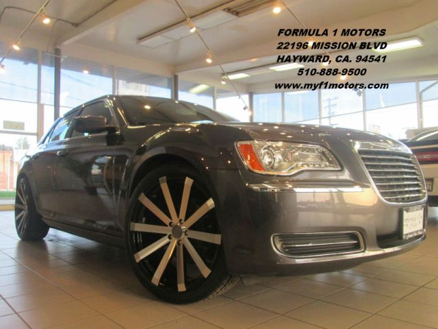 2013 CHRYSLER 300 MOTOWN 4DR SEDAN grey super clean chrysler 300 brand new 22 wheels and tires g