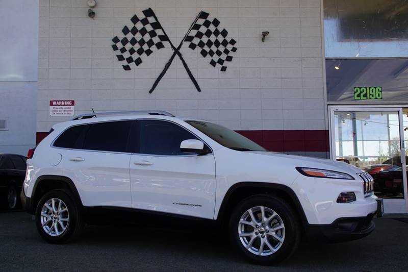 2015 JEEP CHEROKEE LATITUDE 4DR SUV bright white clearcoat 2-stage unlocking doors abs - 4-wheel