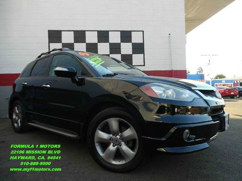 2007 ACURA RDX SH-AWD WTECH 4DR SUV WTECHNOLO black 2-stage unlocking - remote 4wd type - full
