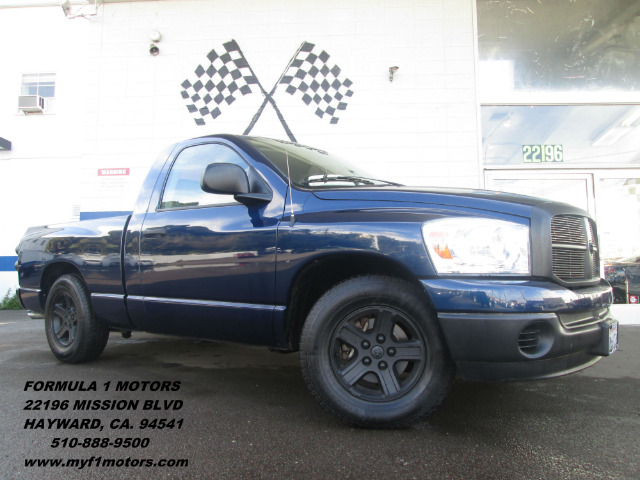 2007 DODGE RAM 1500 SLT 2WD blue abs brakesair conditioningalloy wheelsamfm radioanti-brake s
