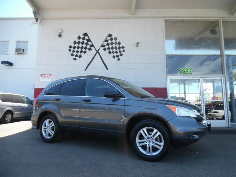 2010 HONDA CR-V EX 4DR SUV grey vinjhlre3h51ac011957 this vehicle is a great buy has great mp