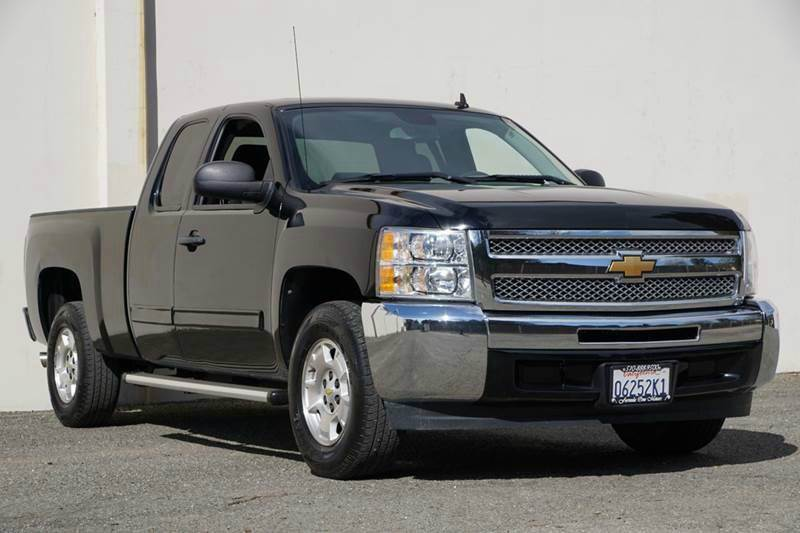 2012 CHEVROLET SILVERADO 1500 LS 4X2 4DR EXTENDED CAB 65 FT black granite metallic abs - 4-whee