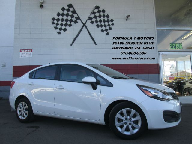 2013 KIA RIO LX 4DR SEDAN 6A white this is a great 1st car great on gas very smooth ridesuper c